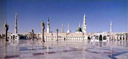 nabawi 01 50 Foto Eksklusif Masjid Nabawi Madinah Pengobat Rindu