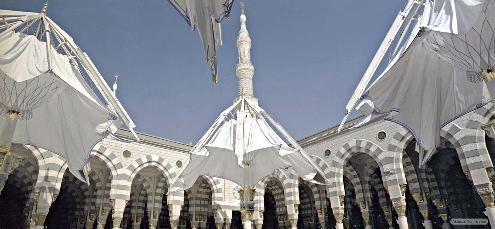 nabawi 11 50 Foto Eksklusif Masjid Nabawi Madinah Pengobat Rindu