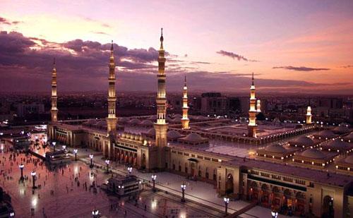 gambar masjid mekah